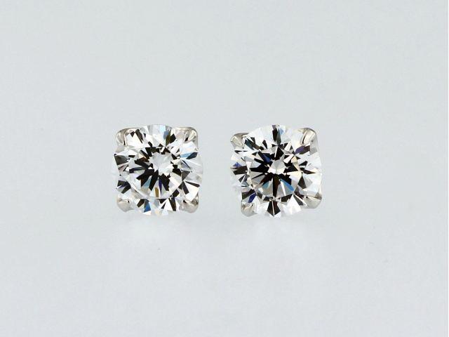 7 mm Cubic Stud Earrings