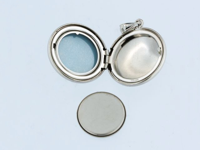 Silver Locket for Ashes