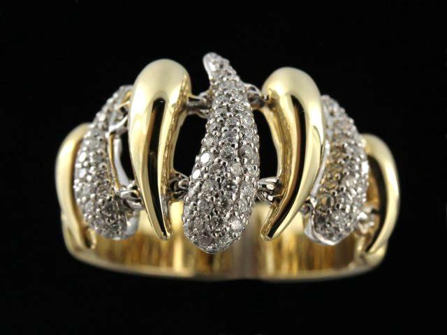 0.63ctw Semi Flex Diamond Ring