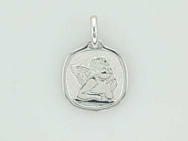 10KT Guardian Angel Charm