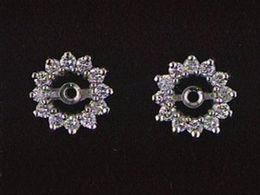 .50ctw Diamond Jackets  Si G - H