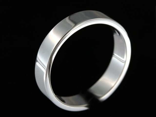 5mm White Gold Band
