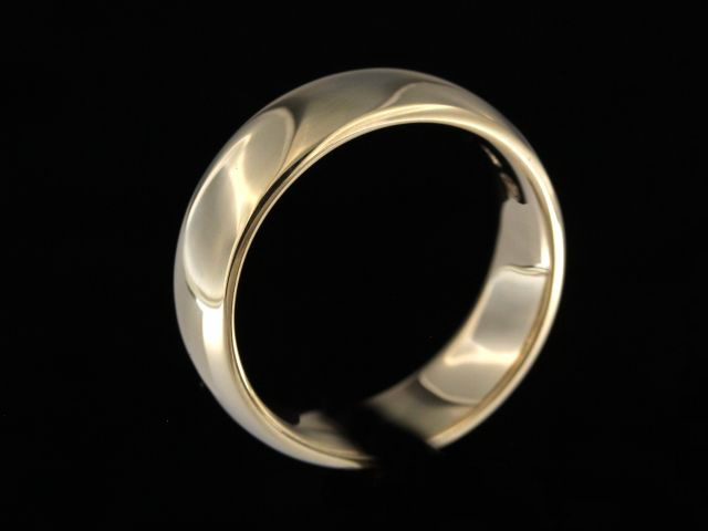 7.00 mm Yellow Gold Band