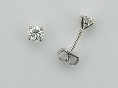 0.50 Ctw Diamond Studs