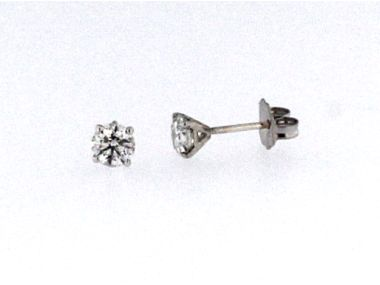 0.84 ctw Diamond Studs