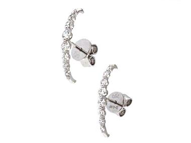 18KT Diamond Earrings
