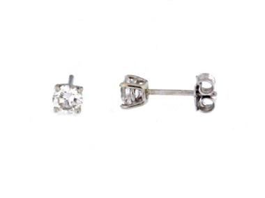 0.50 CTW Diamond Studs