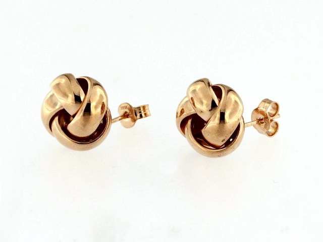 10KT Love Knot Earrings