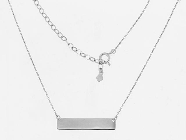 14KT Bar Necklace