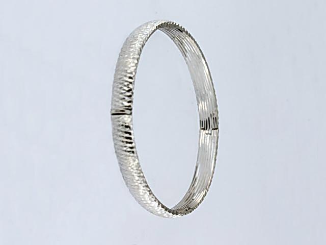 Faceted Bangle Bracelet