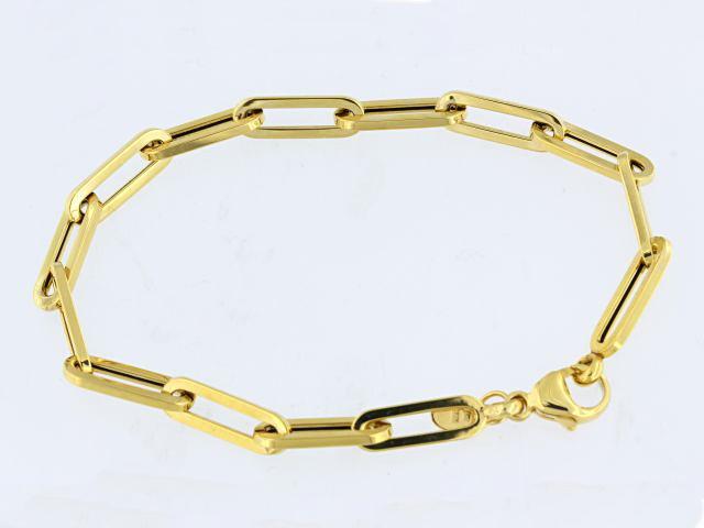 Fancy Oval Link Bracelet