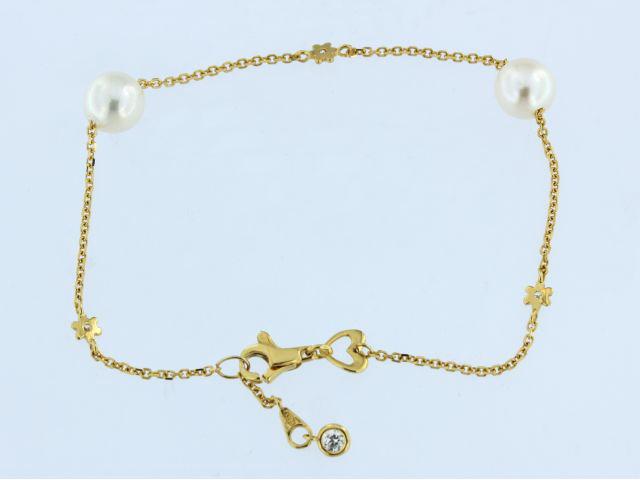 Pearl Station Bracelet