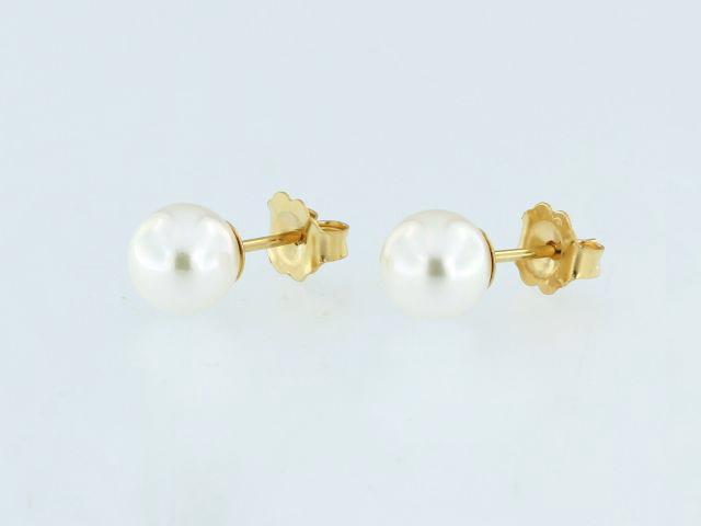 14KY Akoya Pearl Earrings
