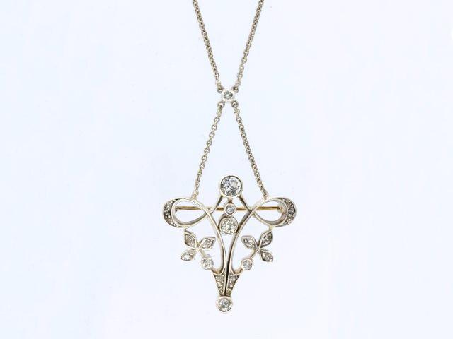 Antique Brooch/ Necklace
