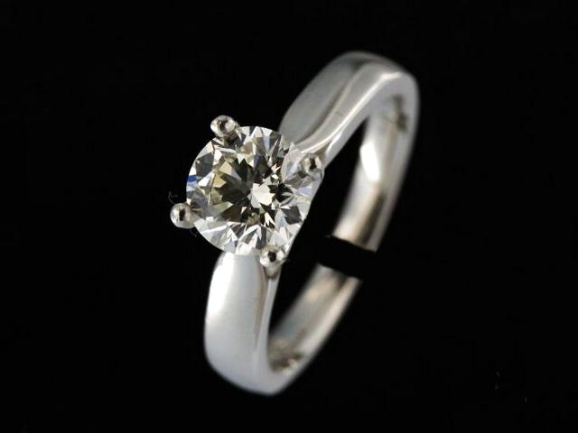 1.51 ct Platinum Engagement Ring