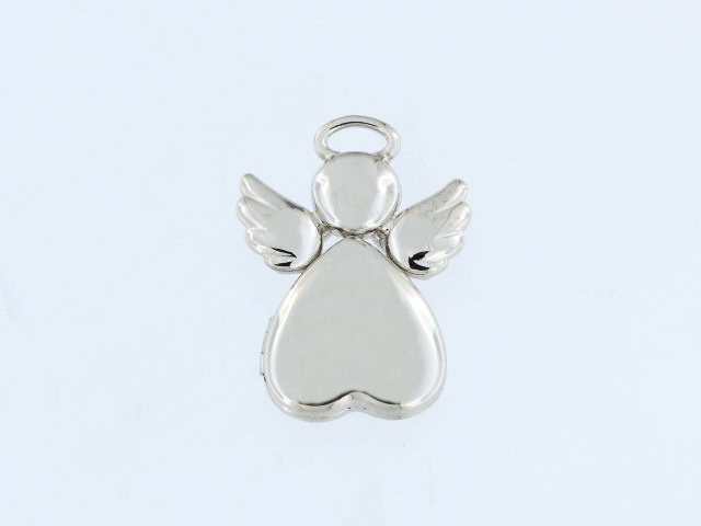 Silver Angel Locket
