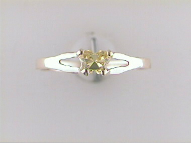 10ky November Butterfly Ring