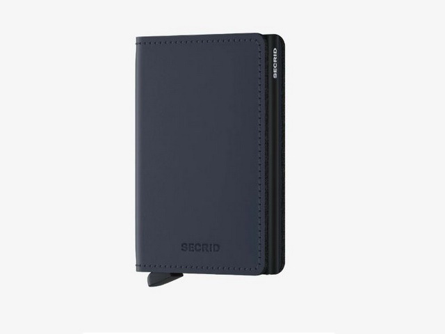 Midnight Matte Blue Wallet