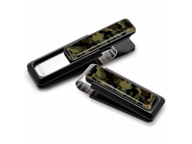 Camo Grip Money Clip
