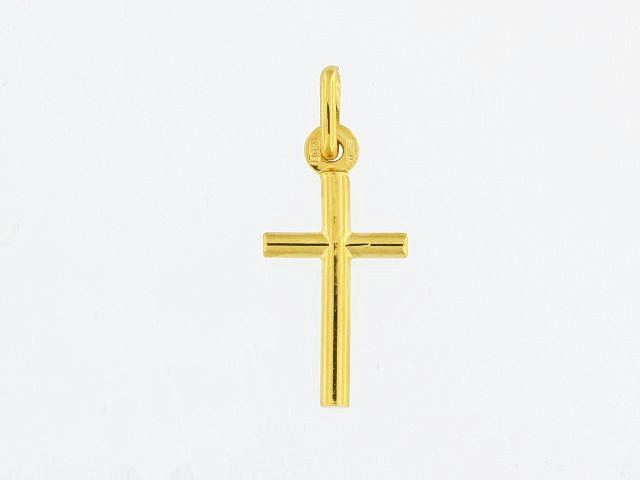 10KT Small Gold Cross
