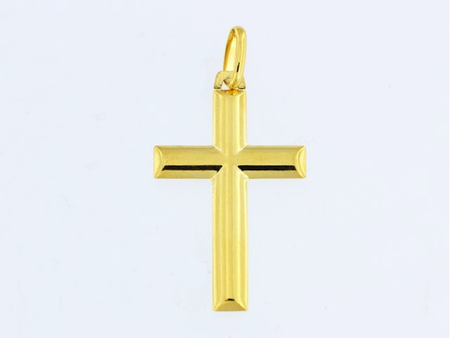 10KT Large Gold Cross