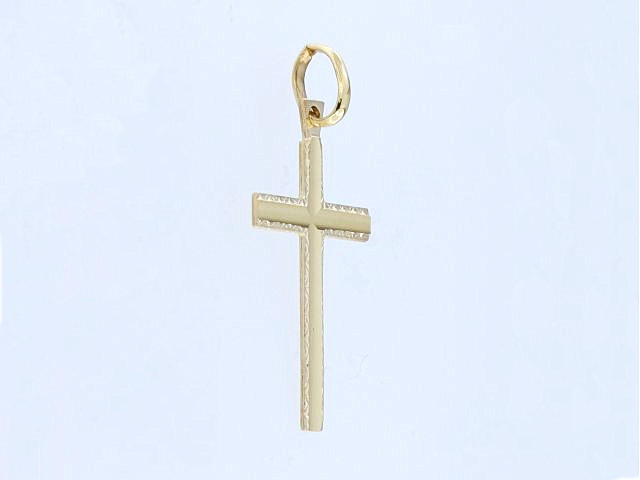 10KT Gold Cross