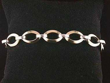 18kt Fancy Link Bracelet