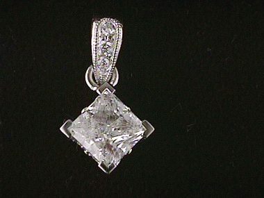 .72ct I1 G/.03ctw Diamond Pendant
