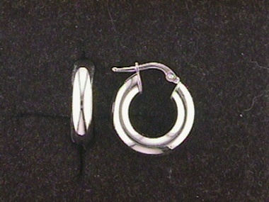 14kw Hoop Earrings