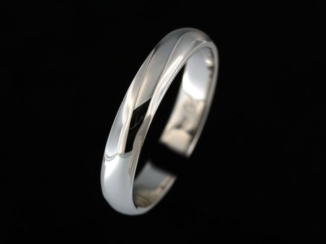 4.00 mm White Gold Band