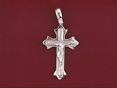 14kt Crucifix