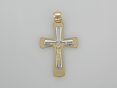 10kt Crucifix