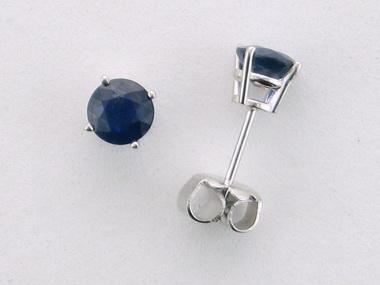 14KT Sapphire Studs