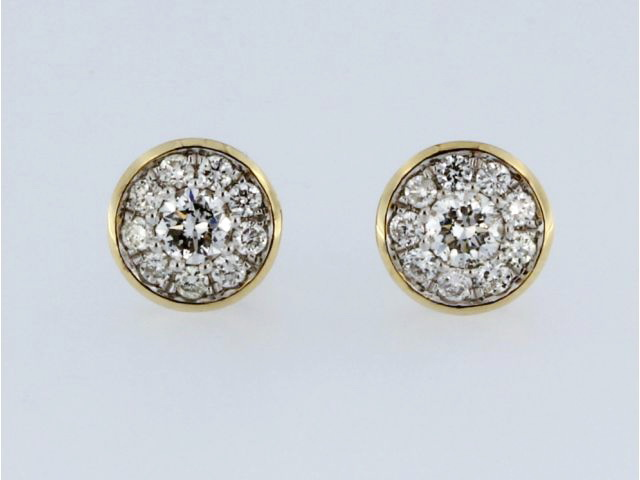 0.75 ctw Diamond Earrings