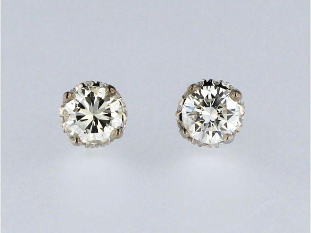 0.58 ctw Diamond Stud Earrings