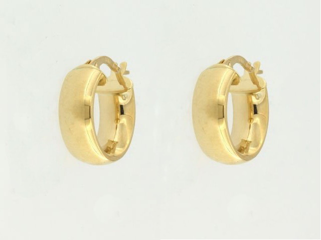 10KT Hoop Earrings