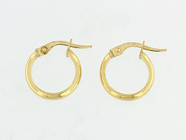 18KT Small Hoop Earrings