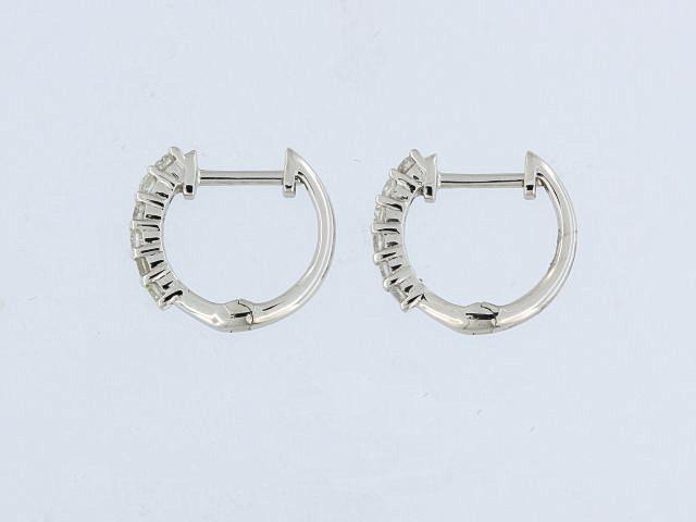 0.25 ctw Diamond Huggie Earrings