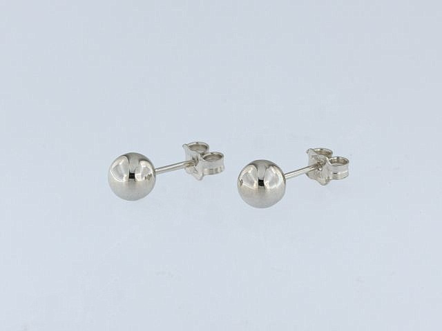 18KT Ball Earrings