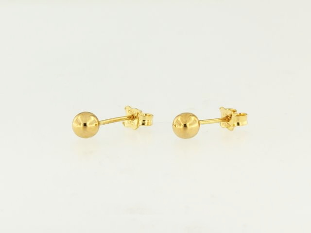 5 mm Ball Earrings