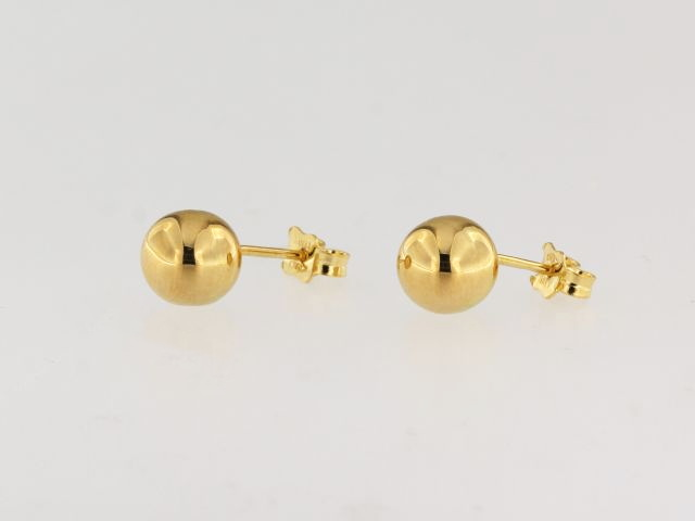 8 mm Ball Earrings