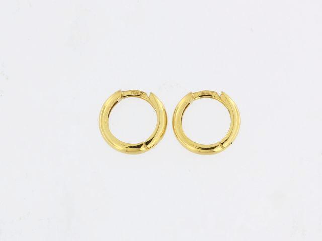 18KT Hoop Earrings