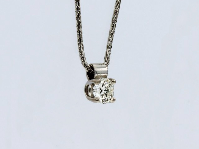 0.33 ct Diamond Pendant