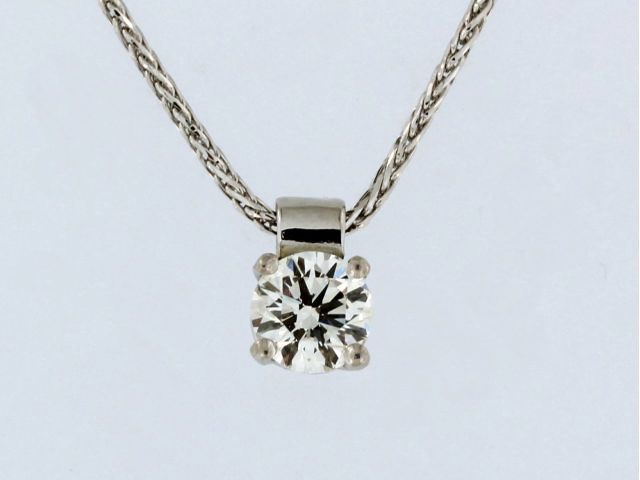 0.46 ct Diamond Pendant