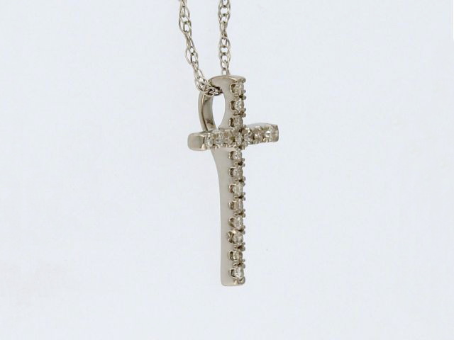 Diamond Cross & Chain