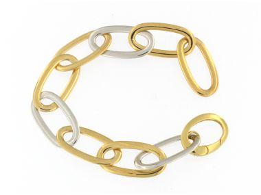 18KT Large Link Bracelet