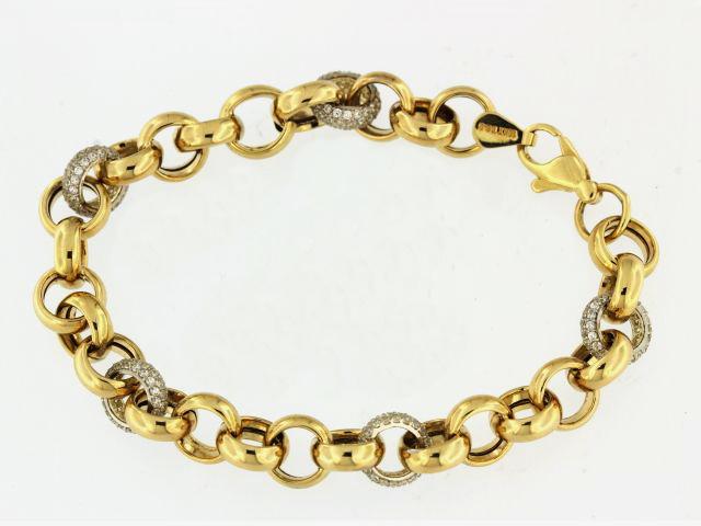 10KT Belcher Link Bracelet