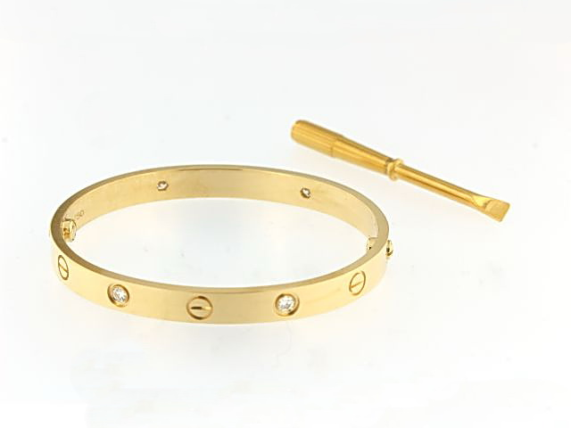 18KT Diamond Bangle