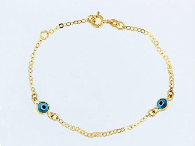 6 inch Evil Eye Bracelet