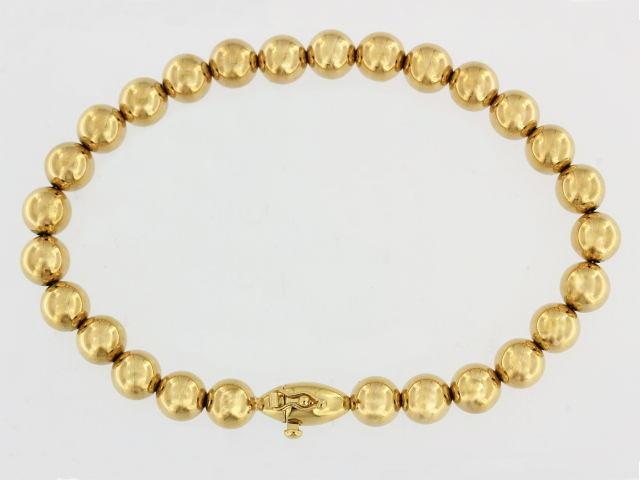 14KT Bead Bracelet
